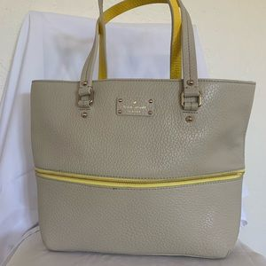 Kate Spade Expandable Leather Tote